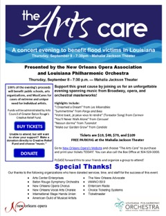 The Arts Care Flyer
